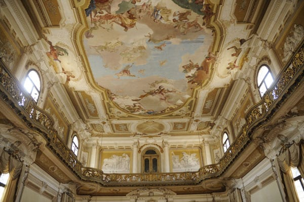 Ceiling by Tiepolo in Villa Pisani