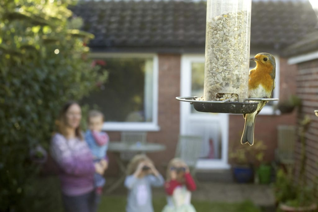 Family bird watching Photo_Ben Hall rspb-images