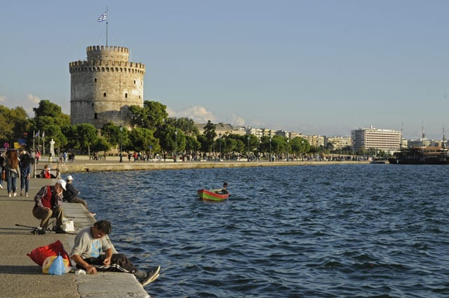 Greece, the city of Thessaloniki