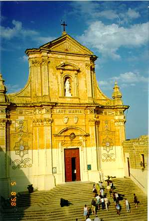 Gozo Cathedral dedicated to Our Lady.
