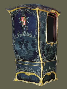 Sedan chair used by the Cotoner brothers