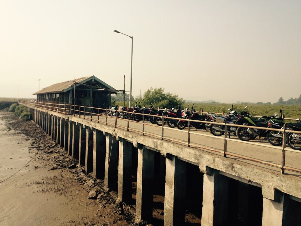 Rewas jetty
