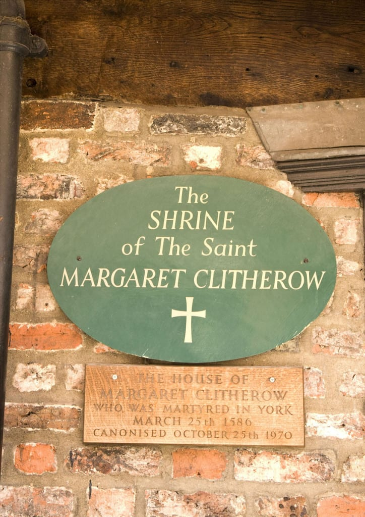 Shrine of Saint Margaret Clitherow