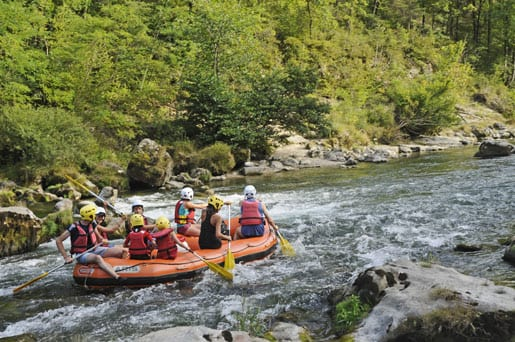 Rafting in the Gorges du Tarn
