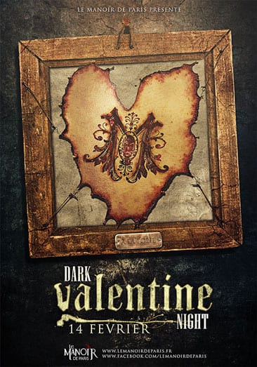 Dark Valentine Night at the Manoir de Paris