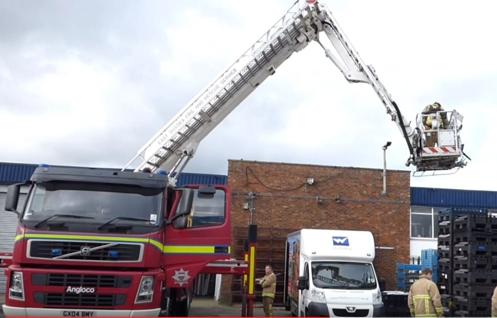 Gull rescue in Eastbourne
