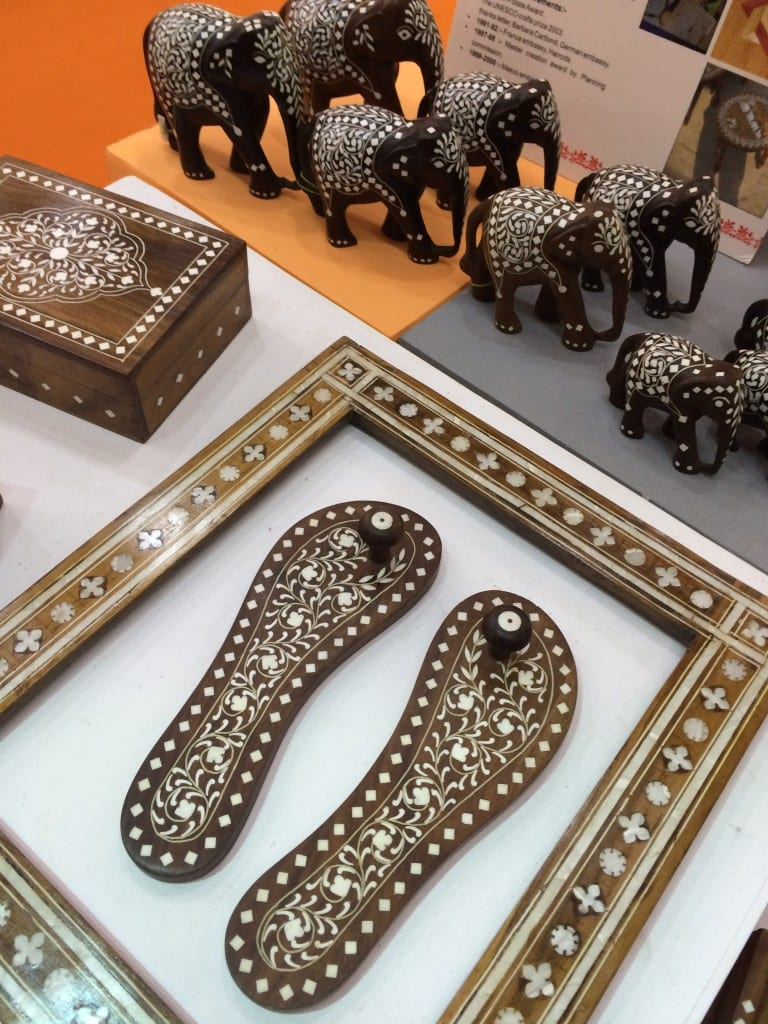 Indian handicrafts all set to ornament the world