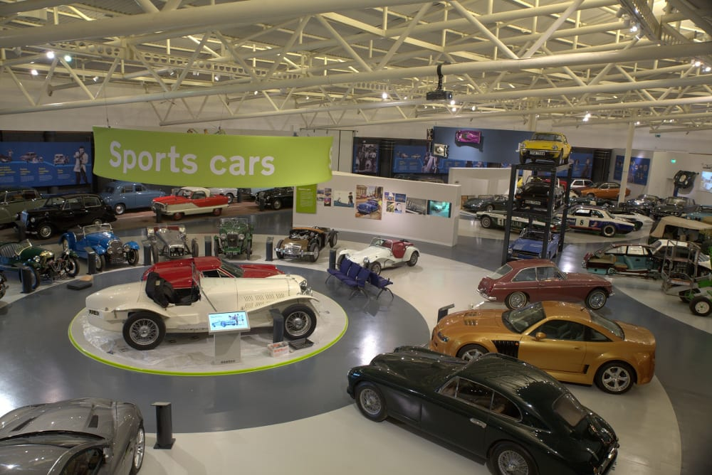 New look British Motor Museum. Photo courtesy of Roy Thole