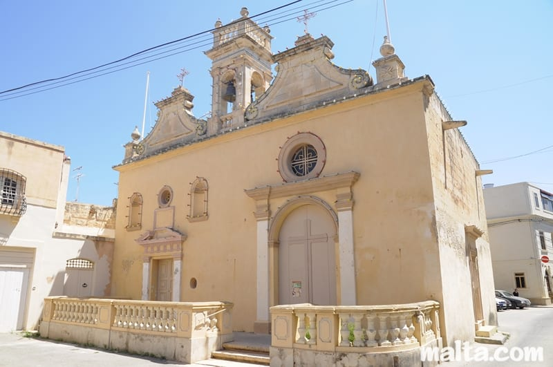 Not one, but two, the twin chapels of the Nativity and the other dedicated to St Lucy, at Naxxar.