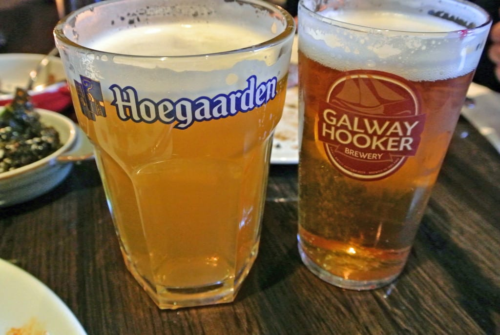 Belgian and local beers satisfy thirst