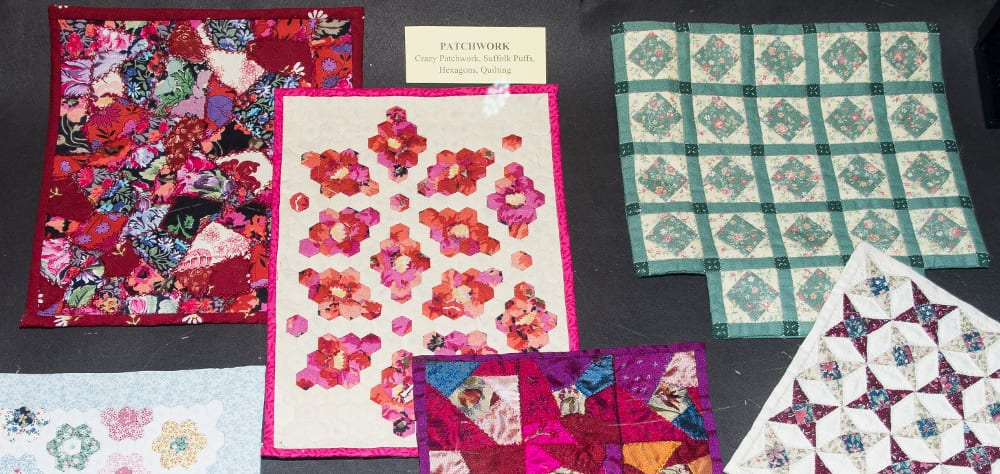 Miniature patchwork