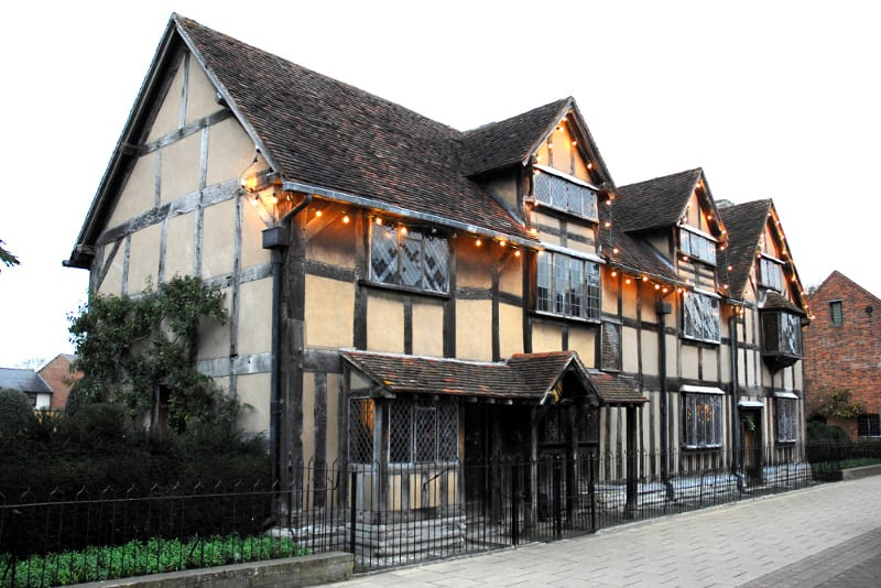 Shakespeare's birthplace, Stratford Upon Avon,