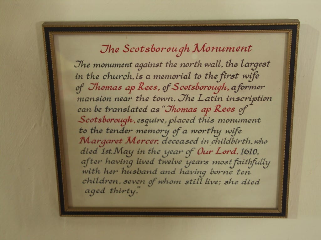 Scotborough-Inscription-at-St-Marys-Church