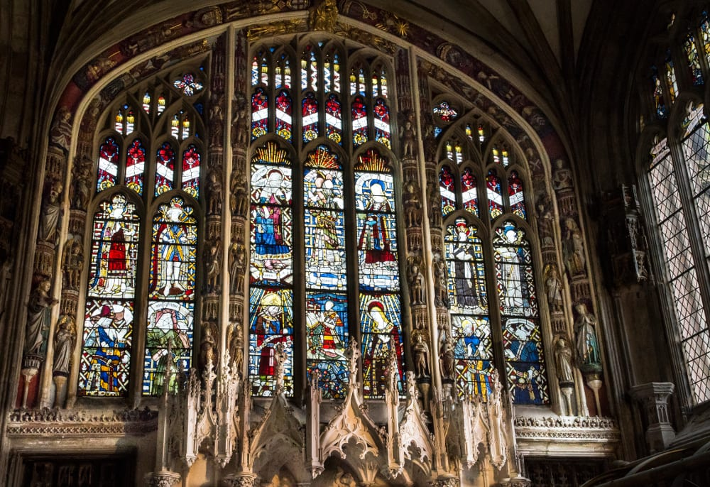 Some-of-St-Marys-stained-glass-windows St Marys Church Warwick - Tysall's Photography 2016