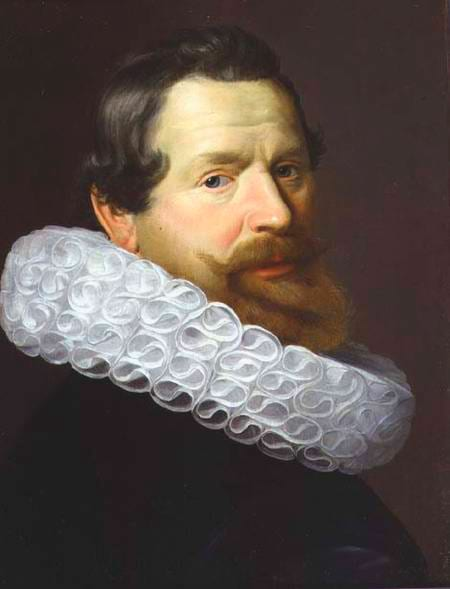 potrait of a man wearing a ruff