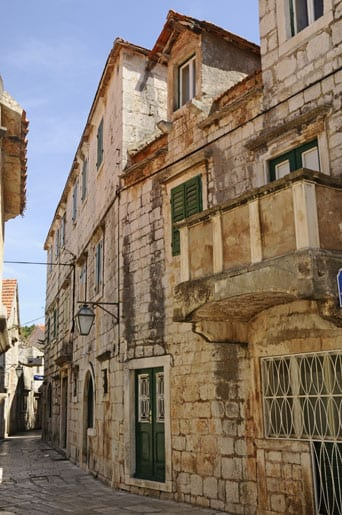 The small streets of Jelsa