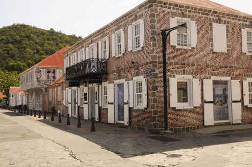 Old building in Gustavia