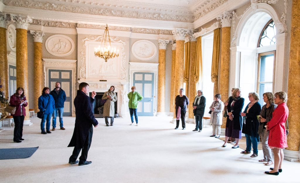 A tour at Stoneleigh Abbey