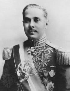 Generalissimo Rafael Trujillo, President of the Dominican Republic, a former owner.