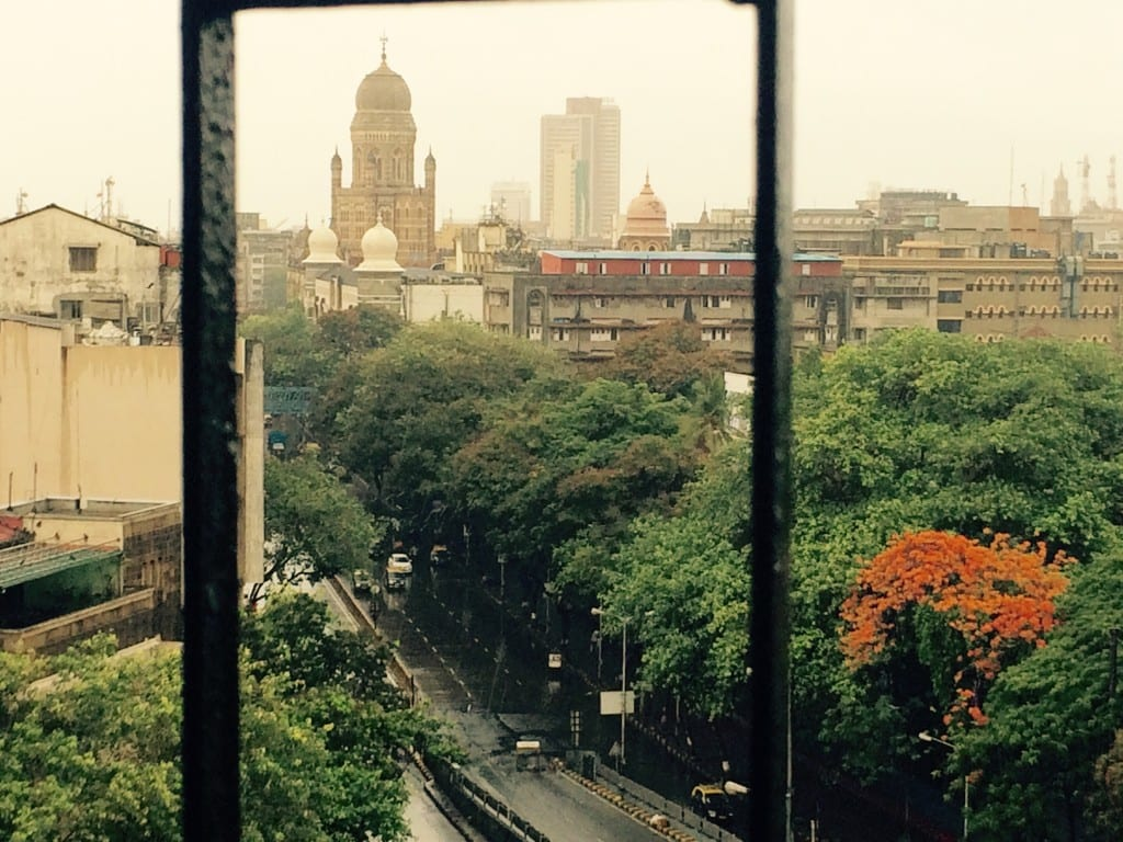 A rain filled South Mumbai, as seen from one of my window.
