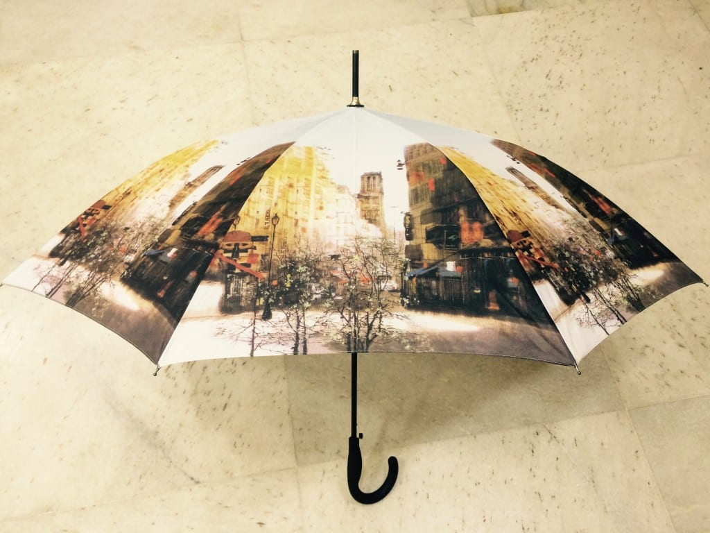 My umbrella all set for the monsoon!