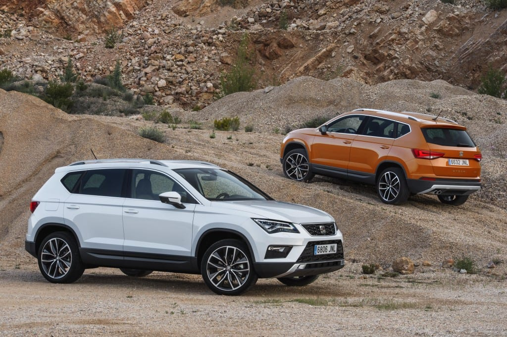 Seat Ateca in finished form