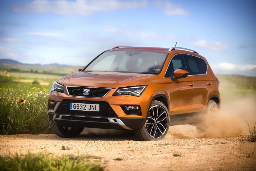 Seat Ateca tested in the rough