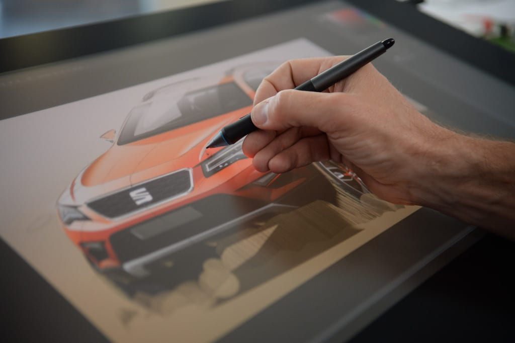 Seat sketches new Ateca