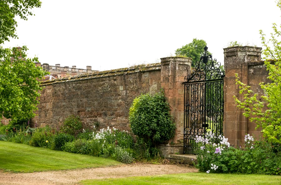 Stoneleigh Abbey Walled-kitchen-garden