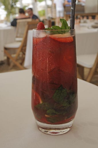 A-strawberry-mojito-Up-Yours.