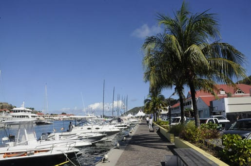Gustavia in St Barts