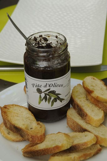 Pâte d'olives, culinary speciality from Provence