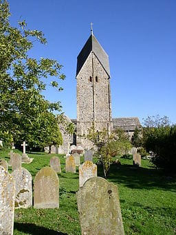 SomptingChurchr from the west