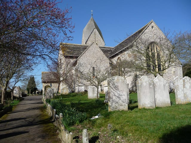 St_Mary The Blessed Virgin Church Sompting