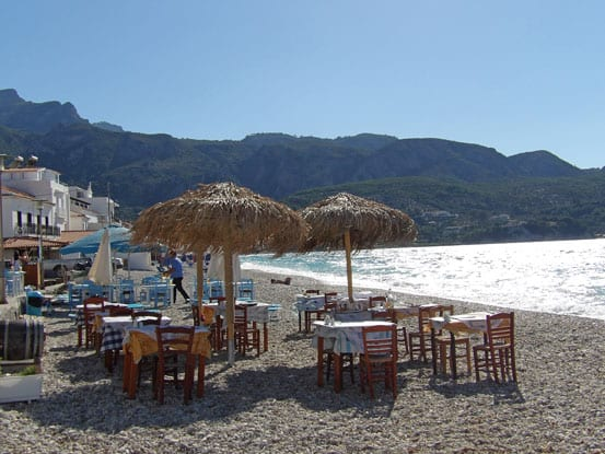 10- Beach on Samos island