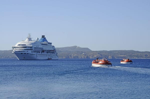 10- The Celestyal Crystal in Milos bay