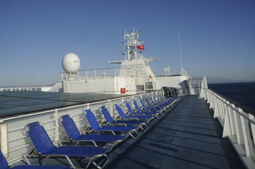 A sun-deck of the Crystal