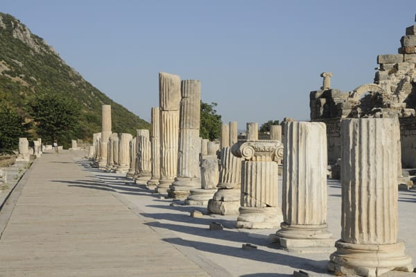 3- Colonnade in Ephesus