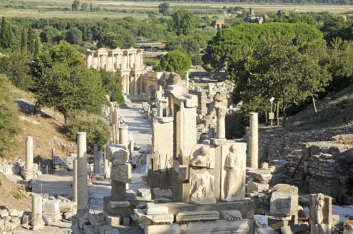 4- The Curetes street of Ephesus