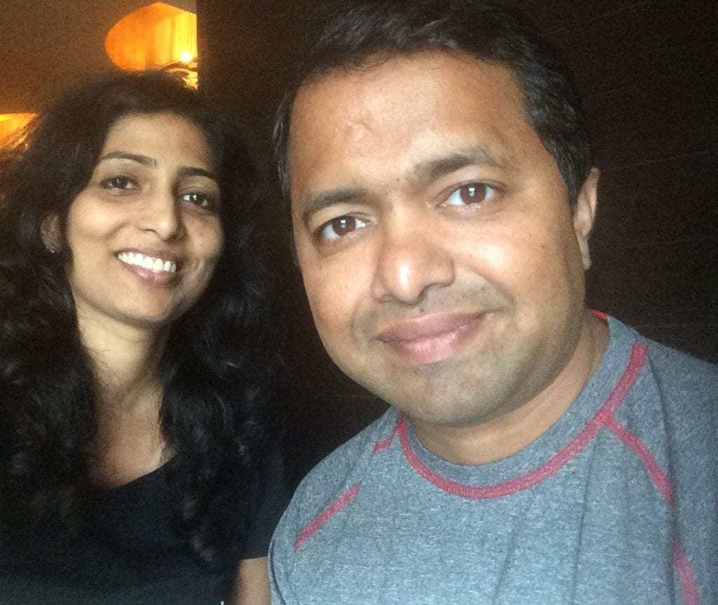 Bonding over lunch- My brother Siddhesh & me