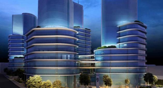 Artistic impression of proposed Mriehel Towers.