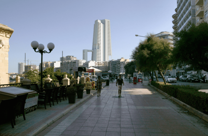 Artistic impression of proposed Sliema Tower.