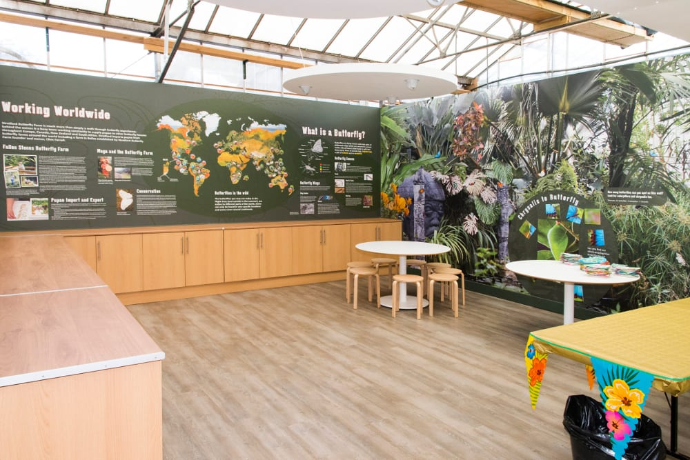 STRATFORD BUTTERFLY FARM 2016 New-Discovery-zone