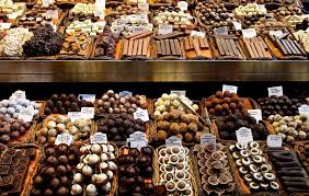an assortment of chocolates