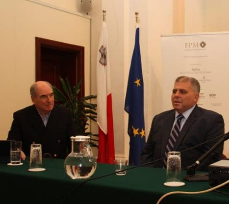 -professor-john-woods-left-launching-his-book-together-with-the-minister-for-gozo-dr-anton-refalo