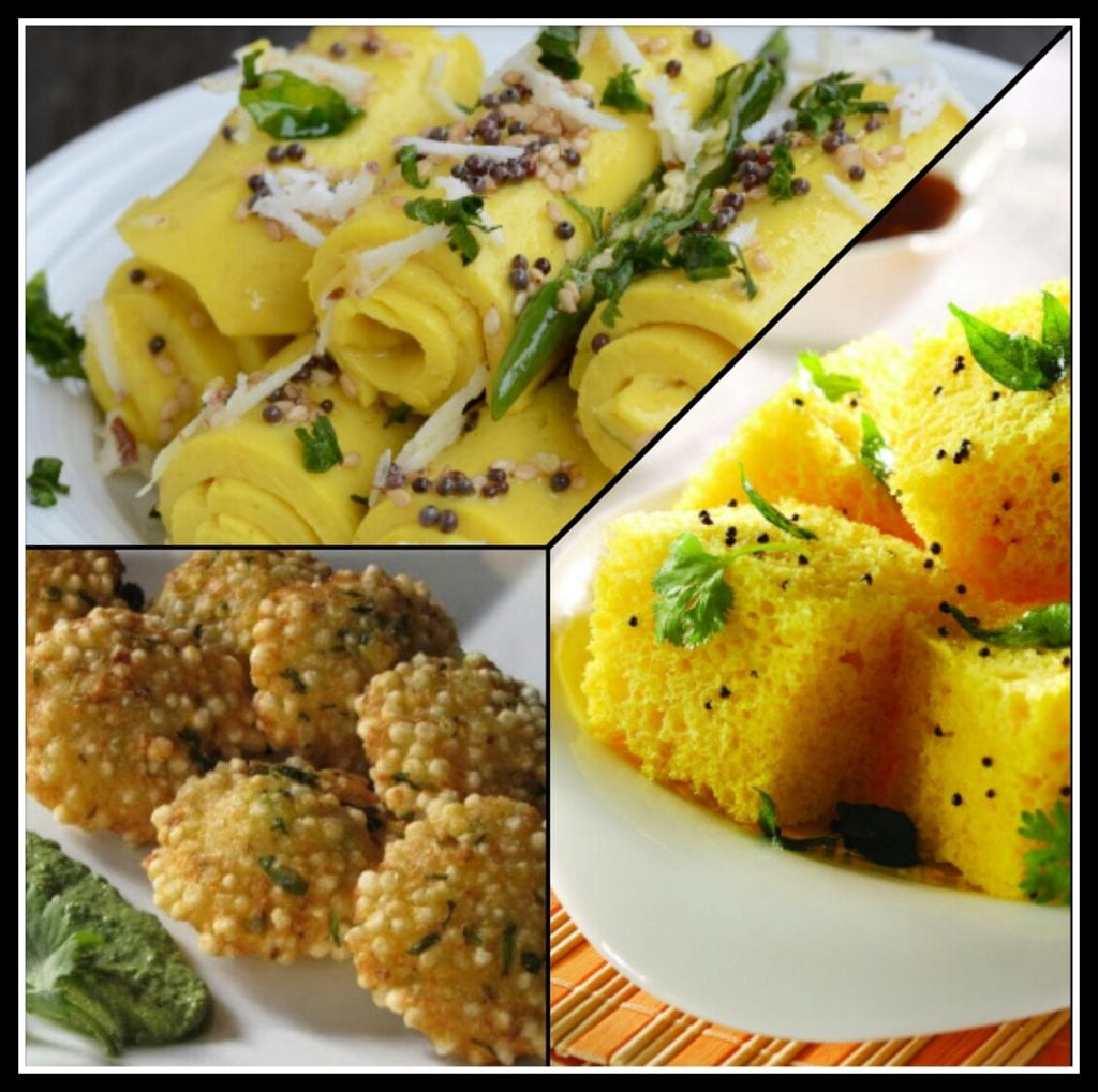 Traditional Gujrati Food during Navratri