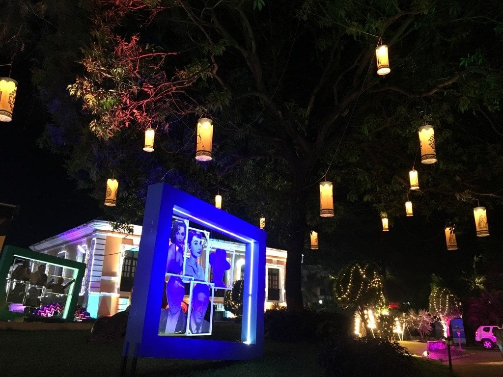 Glittering venue of International Film Festival of India (IFFI), Panjim, Goa