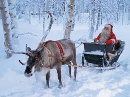 Santa-and-his-reindeer
