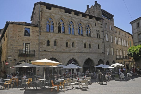 -Figeac Champollion square