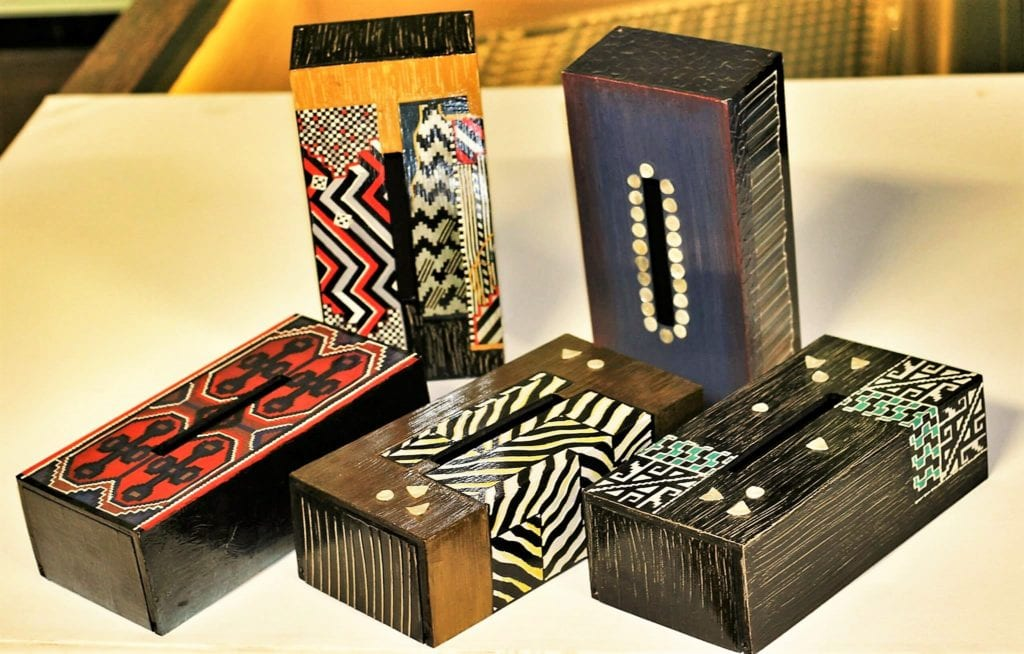 Artistic tissue boxes from ArtIdeaz